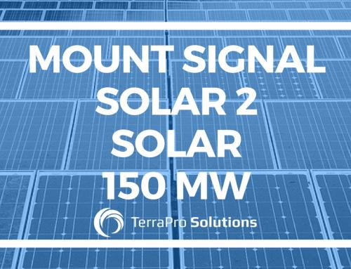 Mount Signal Solar 2 Solar 150 MW