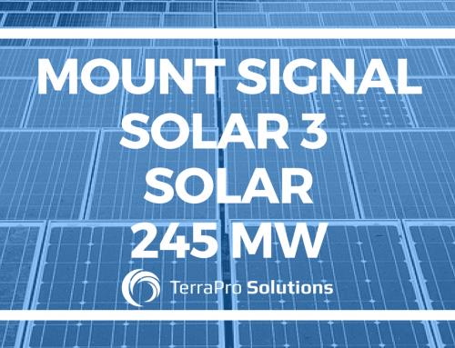 Mount Signal Solar 3 Solar 245 MW