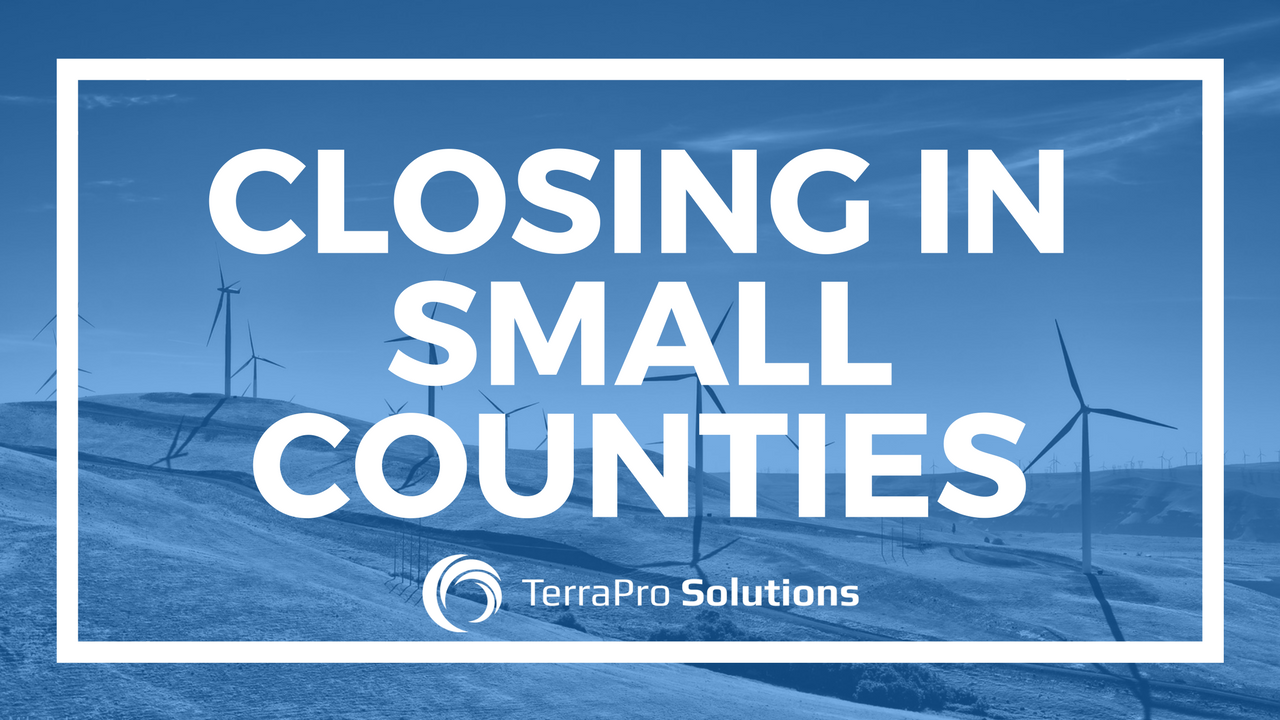 Closing Financing For Energy Projects in Small Counties