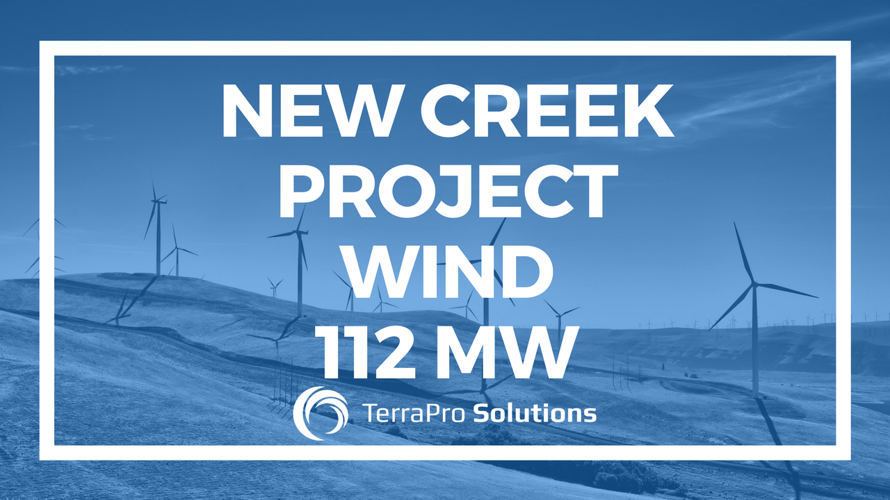New Creek Project 112 MW