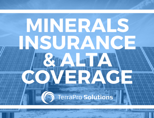 Minerals Insurance & ALTA Coverage