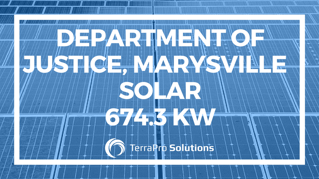 Department of Justice, Marysville, Solar 674.3 KW